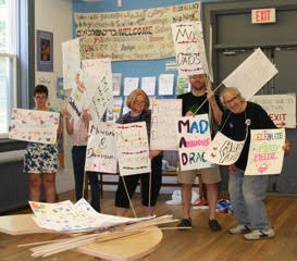 Mad Pride Toronto Sign Party - June 4