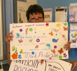 Sharyn - Mad Pride Toronto Sign Party - June 4