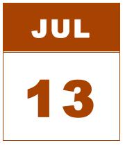 jul 13